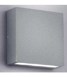Trio THAMES kültéri fali lámpa, LED, 14x14 cm, COB, 2x3W, titánszürke 229360287