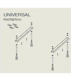 Riho UNIVERZÁLIS kádLÁB POOTSET01U