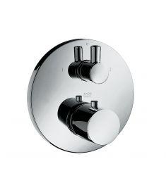Hansgrohe AXOR UNO termosztát falba építhető, elzáró- és váltószeleppel, króm 38720000