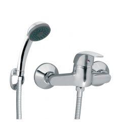 Ferro VASTO fali zuhany csaptelep, zuhanyszettel, króm BVA77
