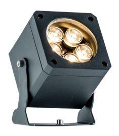 Viokef ARIS kerti lámpa, LED, 5x2W, sötétszürke, 4205400