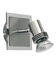 Viokef CHA-CHA spot lámpa, GU10, 1x50W, matt nikkel 461900