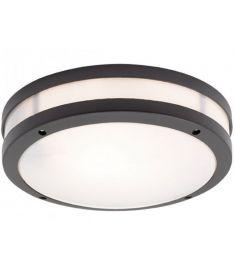Viokef CHIOS kültéri mennyezeti lámpa, E27, 1x18W, CFL,LED, sötét szürke 4081701