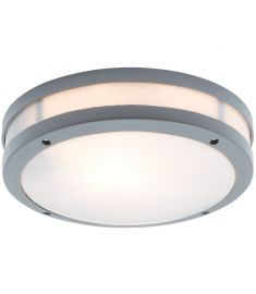 Viokef CHIOS kültéri mennyezeti lámpa, E27, 1x18W, CFL,LED, szürke 4081700
