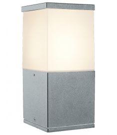 Viokef CORFU kültéri állólámpa, 20 cm, E27, 1x20W, CFL,LED, fehér/szürke 4098900