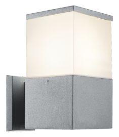 Viokef CORFU kültéri fali lámpa, E27, 1x20W, CFL,LED, fehér/szürke 4098800