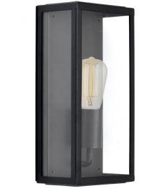 Viokef COUNTRY kültéri fali lámpa, E27, 1x60W, fekete/átlátszó, 4170700