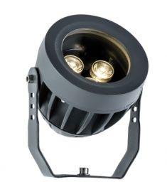 Viokef ERMIS kerti lámpa, LED, 3x1W, sötétszürke, 4205000