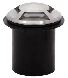 Viokef FRANCO kültéri beépíthető lámpa, GU10, 1x35W, ezüst 4037000