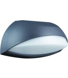 Viokef JASON kültéri fali lámpa, GX53, 11W, sötétszürke/fehér, 4190600