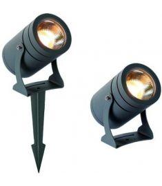 Viokef MARIS kerti lámpa, LED, 12W, sötétszürke, 4187600