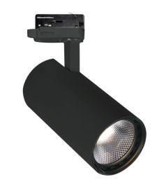 Viokef NESTOR sínes spot lámpa, LED, 10W, fekete, 4214601
