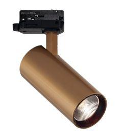 Viokef NESTOR sínes spot lámpa, LED, 15W, arany, 4214702