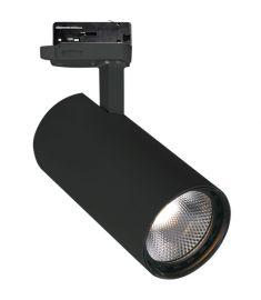 Viokef NESTOR sínes spot lámpa, LED, 30W, fekete, 4214801