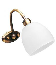 Viokef NIOBE fali lámpa, E14, 1x42W, fehér 351400