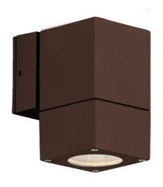 Viokef PAROS kültéri fali lámpa, GU10, 1x50W, barna 4053602