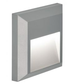 Viokef PLUS kültéri fali lámpa, LED, 1x1.5W, szürke 4137800