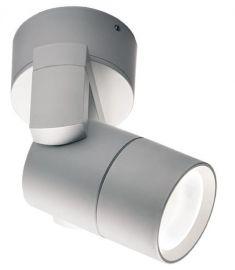 Viokef POROS kültéri fali lámpa, GU10, 1x35W, ezüst 4143701
