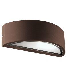 Viokef RHODES fali lámpa, E27, 1x26W, CFL,LED, barna 4100702