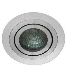 Viokef RICHARD beépíthető lámpa, GU10, 1x50W, ezüst 4106400