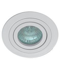 Viokef RICHARD beépíthető lámpa, GU10, 1x50W, fehér 4106401