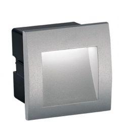 Viokef RIVA kültéri beépíthető lámpa, LED, 1x1.5W, szürke 4124800
