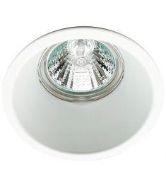 Viokef ROB beépíthető spot lámpa, kerek, d8.3cm, GU10, 1x50W, fehér, 4182900