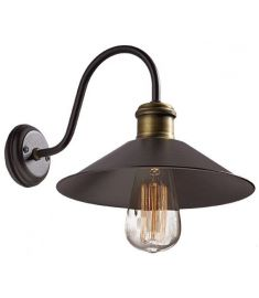 Viokef RUSTIC fali lámpa, E27, 1x60W, barna 3083800