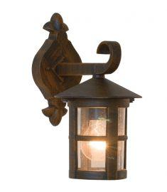 Viokef SKIATHOS kültéri fali lámpa, E27, 1x60W, barna 4056200