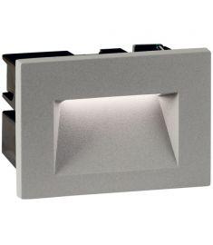 Viokef THETA kültéri beépíthető fali lámpa, LED, 3W, szürke, 4198800