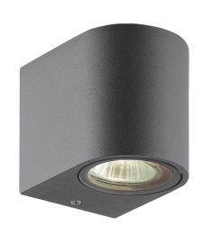 Viokef TILOS fali lámpa, GU10, 1x35W, sötét szürke 4099700