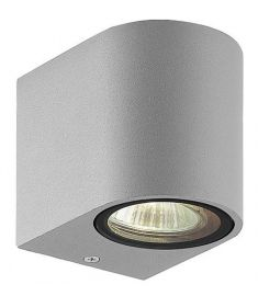 Viokef TILOS fali lámpa, GU10, 1x35W, szürke 4099702
