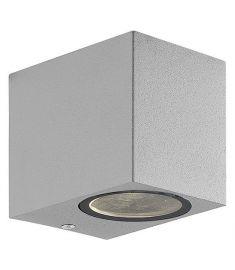 Viokef TILOS kültéri fali lámpa, GU10, 1x35W, szürke 4099502
