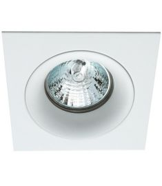 Viokef TIM beépíthető spot lámpa, szögletes, 9.2x8x9.2cm, GU10, 1x50W, fehér, 4182800