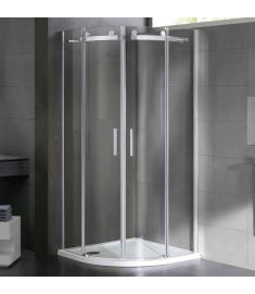 Wellis VIRGO íves zuhanykabin, 90x90, biztonsági üveg 17020516-454