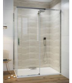 Wasserburg FELIZ zuhanykabin, 120x80x195 cm, 8 mm-es biztonsági üveg, 2532-80