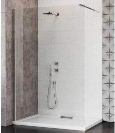 Wasserburg VETRO walk-in zuhanyfal, merevítővel, 100x200 cm, 8 mm-es biztonsági üveg, 25262-100