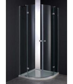 Wellis ARNO íves zuhanykabin, tálca nélkül, 90x90x200 cm, 17020516-525