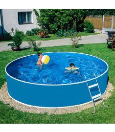 Wellis LAGOON 360/90 merevfalú medence, mistry fóliával, létrával, homokszűrővel 17020516-521