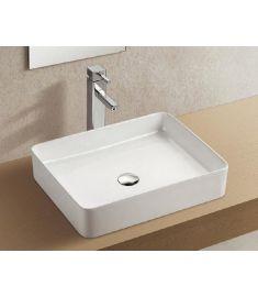 Wellis LILY ráépíthető mosdó, porcelán, fehér, 50x40.5x11 cm, 17020516-590