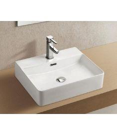 Wellis LOTUS ráépíthető mosdó, porcelán, fehér, 50x42.3x12.7 cm, 17020516-588
