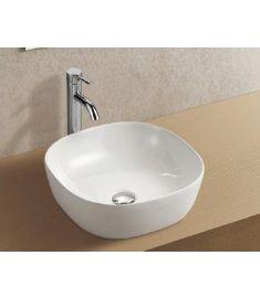 Wellis POPPY mosdótál, porcelán, fehér, 41x41x14.8 cm, 17020516-591