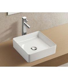 Wellis TULIP ráépíthető mosdó, porcelán, fehér, 35.8x35.8x10.8 cm, 17020516-589