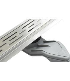 Wellis W-DRAIN LINEAR 90 rozsdamentes acél zuhanyfolyóka szett, ráccsal, 90x7x9.5 cm, 17020516-628