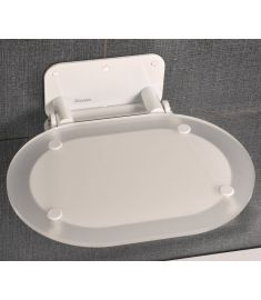 Ravak CHROME zuhanykabin ülőke, Clear/fehér B8F0000028