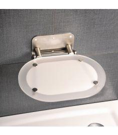 Ravak CHROME zuhanykabin ülőke, Clear/rozsdamentes B8F0000029