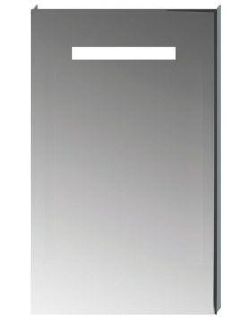 Jika CLEAR téglalap alakú tükör, LED világítással, 45×81 cm H4557051731441