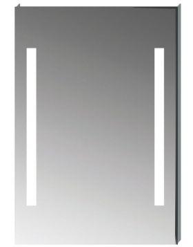 Jika CLEAR téglalap alakú tükör, LED világítással, 55×81 cm H4557151731441