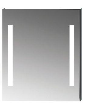 Jika CLEAR téglalap alakú tükör, LED világítással, 70×81 cm H4557351731441