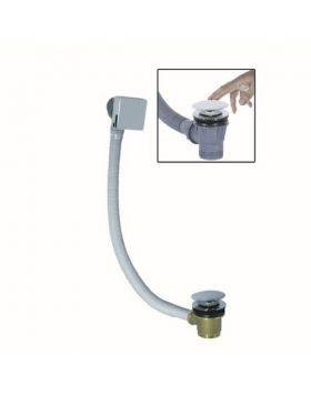 M-Acryl Le- és túlfolyó, szögletes, vízfeltöltős, click-clack 15232